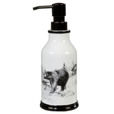 Creative Bath Sketches Soap/Lotion Dispenser