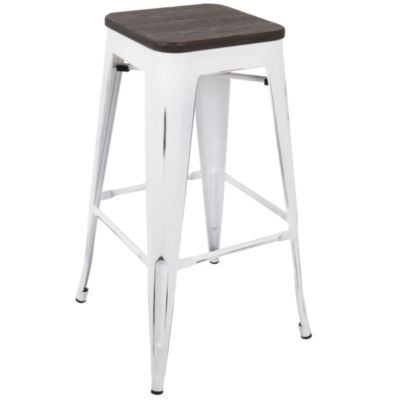 Oregon Industrial Barstools by LumiSource - Set of 2