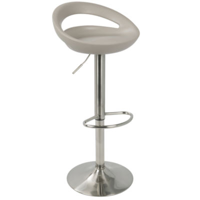 Swizzle Contemporary Adjustable Barstools by LumiSource - Set of 2