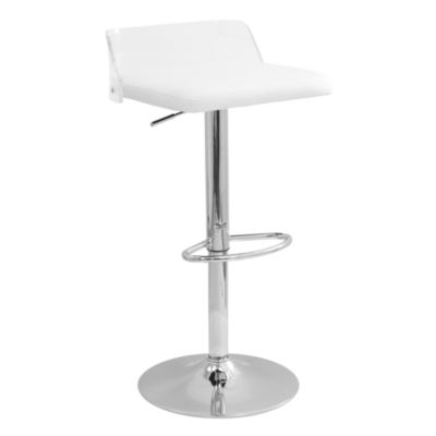 Arctic Contemporary Adjustable Barstool by LumiSource
