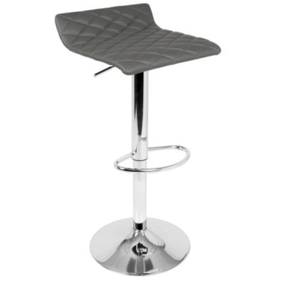Cavale Contemporary Adjustable Barstool by LumiSource
