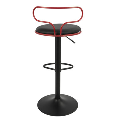 Contour Contemporary Adjustable Barstool by LumiSource