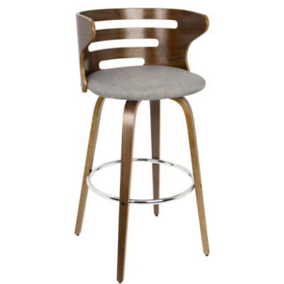 Cosini Mid-Century Modern Barstool with Swivel by LumiSource