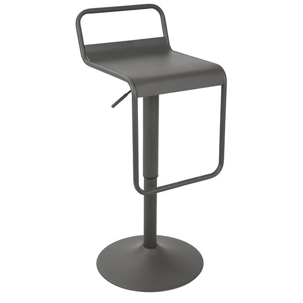 Emery Uptown Industrial Adjustable Barstool in byLumiSource