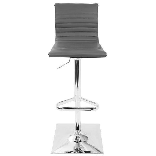 Master Height Adjustable Contemporary Barstool with Swivel by LumiSource