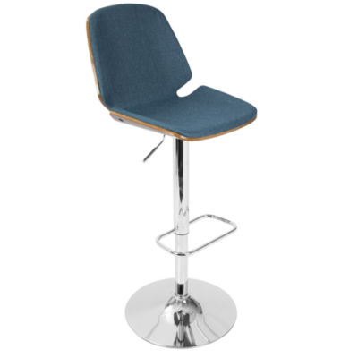 Serena Mid-Century Modern Barstool by LumiSource