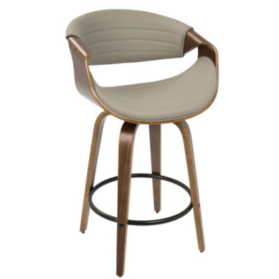 Symphony Mid-Century Modern Counter Stool by LumiSource