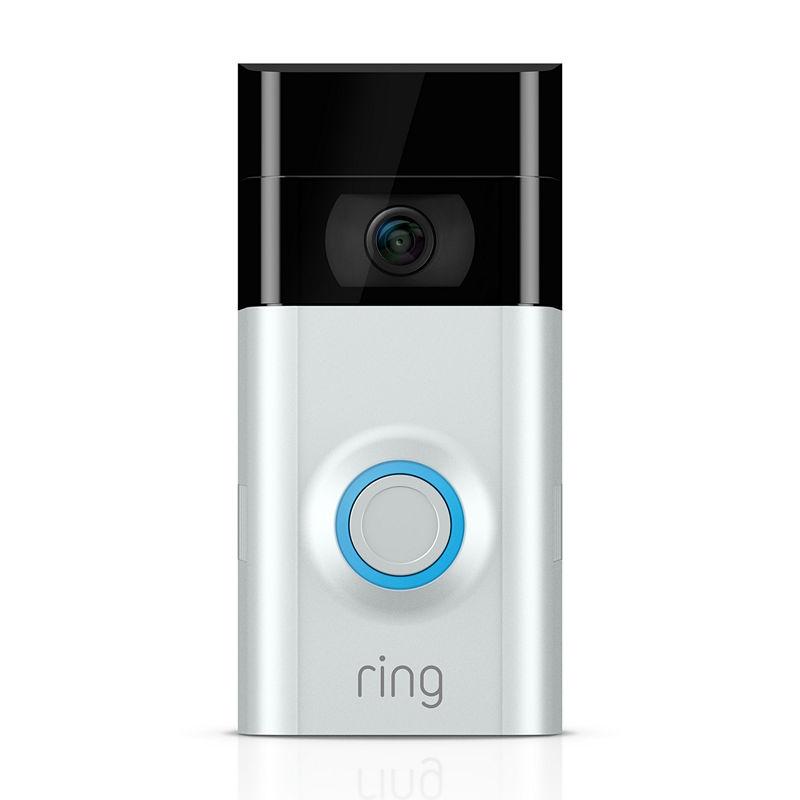 Ring Video Doorbell 2 - Satin Nickel / Venetian Bronze, Silver