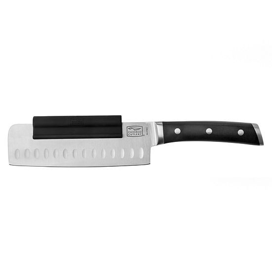 Chicago Cutlery Damen 65in Nakiri Knife With Chop Assist Carving Knife