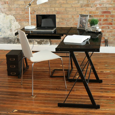 Home Office L Shaped Corner Computer Desk