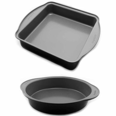 EarthChef Round & Square Cake Pan Set