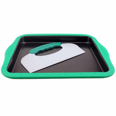 Perfect Slice Cookie sheet Big With Silicone Sleeve and tool