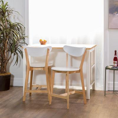 Set of 2 Retro Modern Barstools