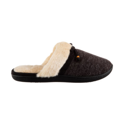Isotoner Knit Clog Slippers with 360 Memory Foam