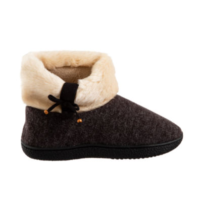 Isotoner Knit Bootie Slippers with 360 Memory Foam
