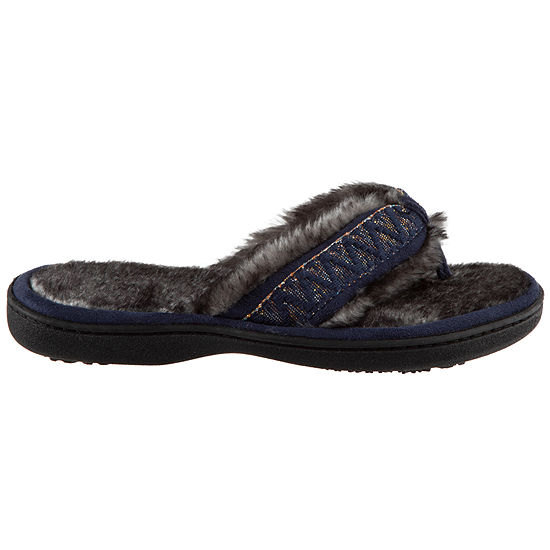 209f4aabcc6 Isotoner Microsuede Thong Slippers - JCPenney