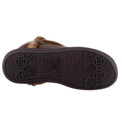 Isotoner Microsuede Tall Boot Slippers