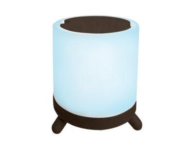 Sharper Image Diffuser Aromatherapy Wood Ceramic Oil Diffuser