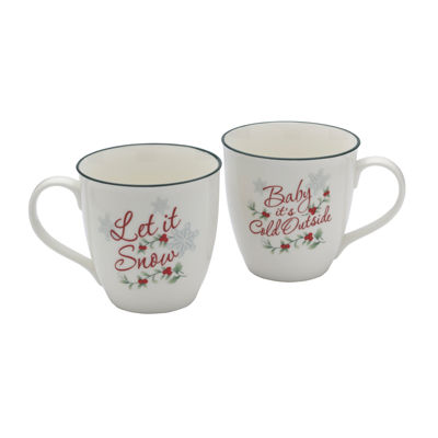 Pfaltzgraff Winterberry 2-pc. Coffee Mug