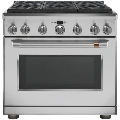 "Café™ 36"" All Gas Professional Range with 6 Burners (Natural Gas)"