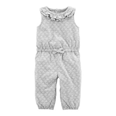 Carter's Sleeveless Jumpsuit - Baby Girl