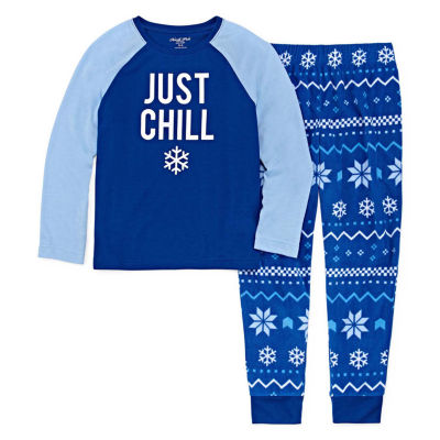 NORTH POLE TRADING COMPANY CHILLIN 2 PIECE PAJAMS SET - UNISEX TODDLER