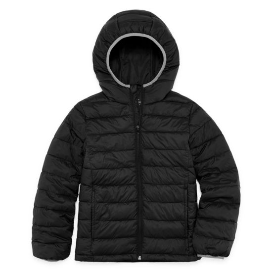 Xersion - Boys Packable Midweight Puffer Jacket Husky-Big Kid