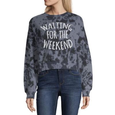 "Waiting for the Weekend"" Sweatshirt - Juniors"