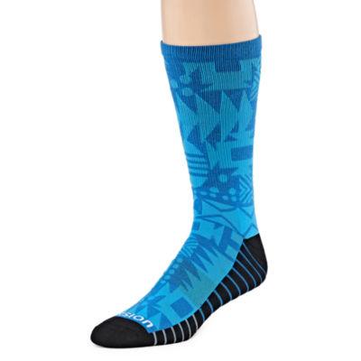 Xersion 1 Pair Crew Socks-Mens
