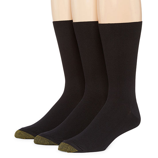 Gold Toe® 3-pk. Dress Metropolitan Crew Socks