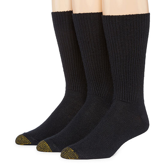 Gold Toe® 3-pk. Fluffies® Casual Acrylic Crew Socks