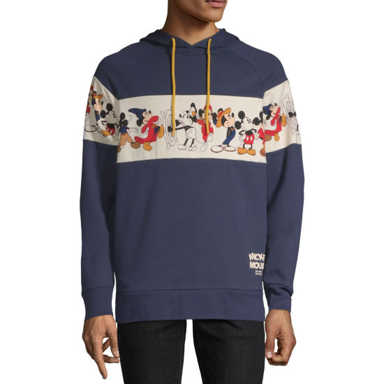 Mickey Mouse Line Up Graphic Hoodie