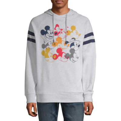 Mickey Mouse Color Head Graphic Hoodie
