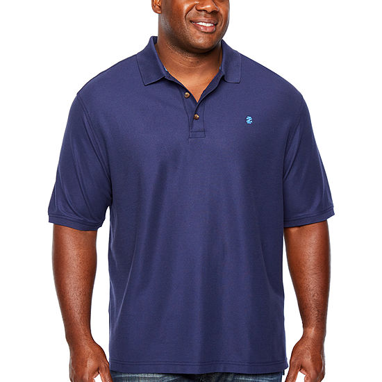 IZOD Big and Tall Mens Short Sleeve Polo Shirt