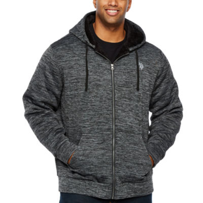 Us Polo Assn. Midweight Sherpa Jacket - Big and Tall