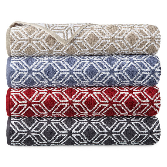 JCPenney Home Tribal Print Bath Towels
