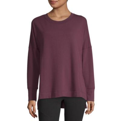 Xersion Cozy High Slit Tunic Sweatshirt