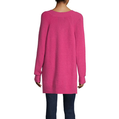 a.n.a Womens V Neck Long Sleeve Pullover Sweater