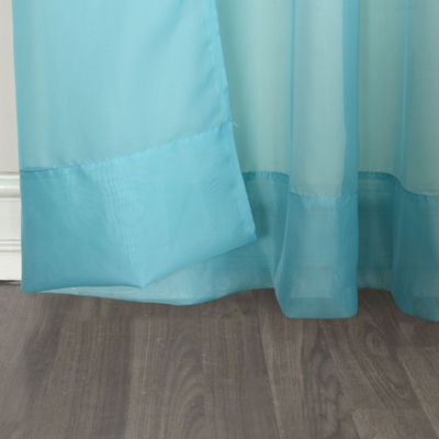 No.918 Emily Voile Tab-Top Curtain Panel