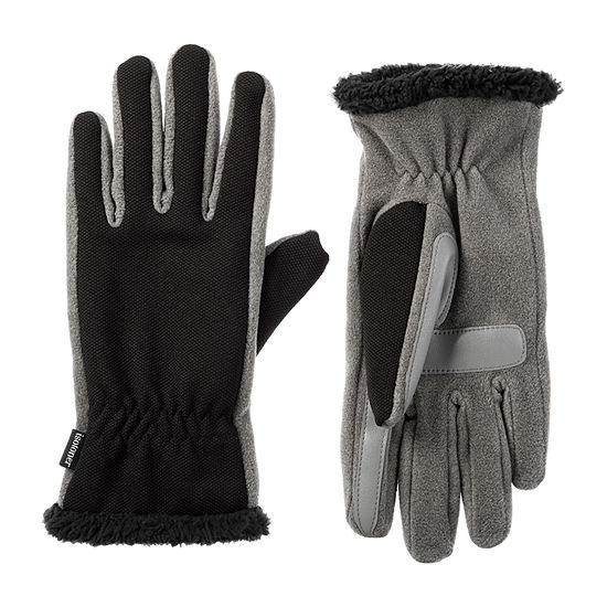 Isotoner Cold Weather Tech Stretch Gloves with SmartDRI