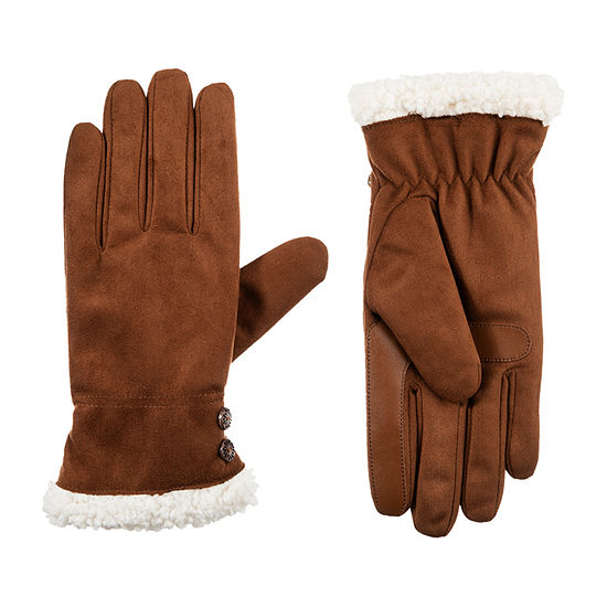Isotoner Cold Weather Microfiber Gloves with SmartDRI