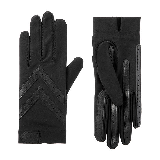Isotoner Cold Weather Shortie Spandex Gloves with SmartDRI