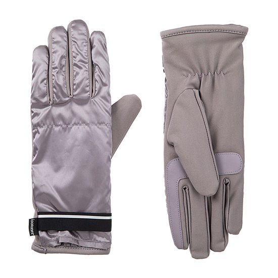 Isotoner Iridescent Spandex Cold Weather Gloves