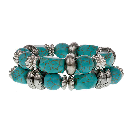 Mixit 2-pc. Stretch Bracelet