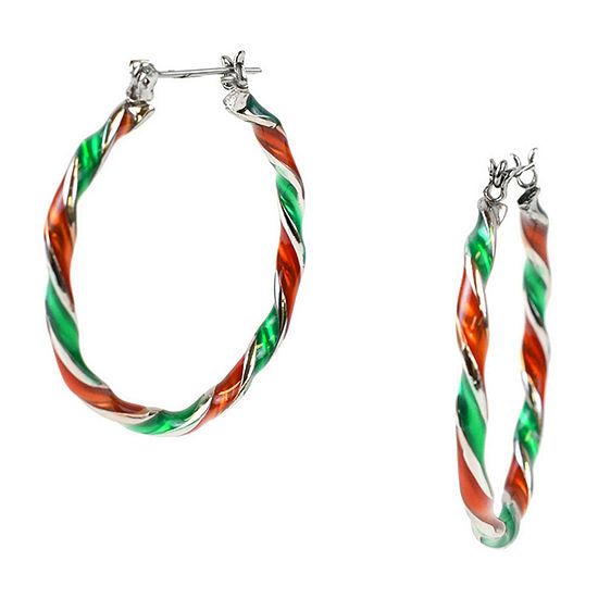 Mixit 1 Pair Hoop Earrings