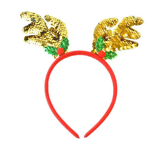 Mixit Sequin Reindeer Headband