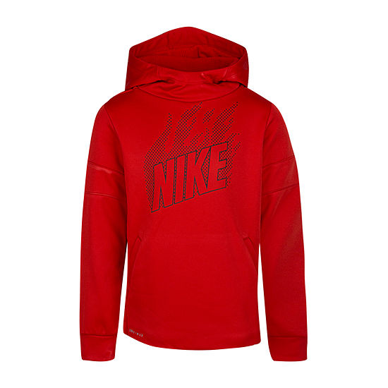 Nike Performance Fleece Little Boys Hoodie