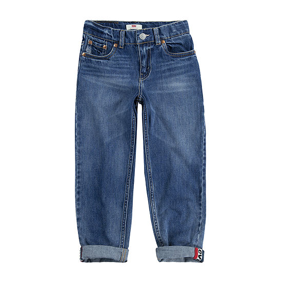 Levi's Made For Your Sneaker Big Boys 502 Slim Fit Jean