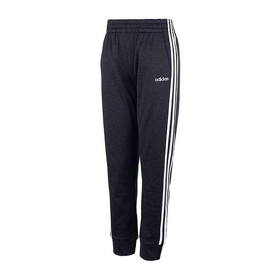 adidas Performance Fleece Big Boys Mid Rise Cuffed Pull-On Pants