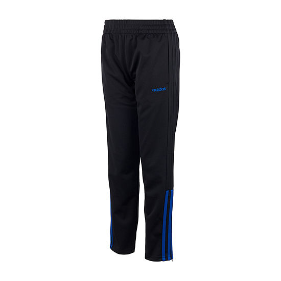adidas Boys Mid Rise Straight Pull-On Pants - Big Kid